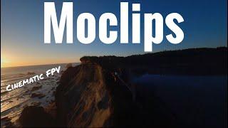Moclips Beach. Cinematic FPV