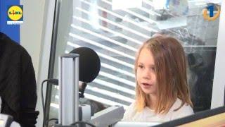 Miha Deželak je 6-letno Tamy učil rolkati, še prej pa ga je obiskala v studiu