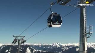 preview picture of video 'Schmitten Ski Resort in Zell am See -- Skiing at Schmittenhoehe'