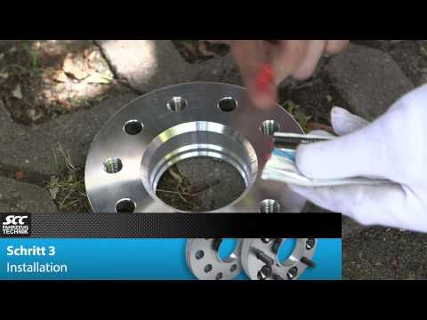 SCC Montageanleitung - Spurverbreiterung System 4