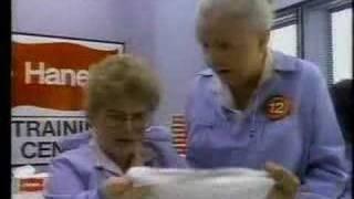 Hanes boys underwear commercial with Inspector 12