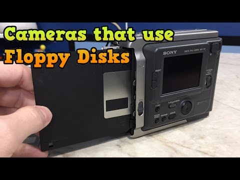 The Earliest Digital Cameras Used Floppy Disks