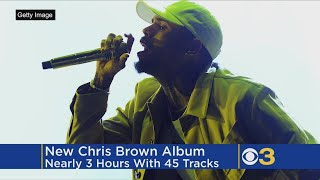 Chris Brown Drops New 3 Hour Album With 45 Tracks