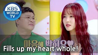 Yuju has a talent of comparing people to food?! [Hello Counselor Sub : ENG,THA / 2018.05.07]