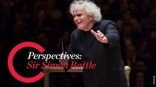Sir Simon Rattle Discusses Orchestra Size for Beethoven's Symphonies