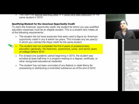 Free Sample Tax Course - YouTube