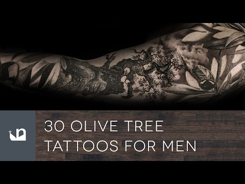 30 Olive Tree Tattoos For Men