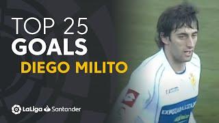 TOP 25 GOALS Diego Milito en LaLiga Santander