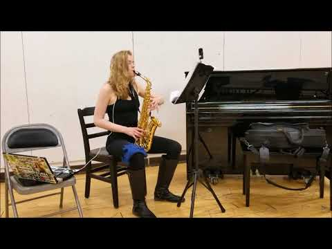 'Contre Qui, Rose' by Morten Lauridsen, arranged by Ashley Everhart for 7-Part Alto Saxophone.