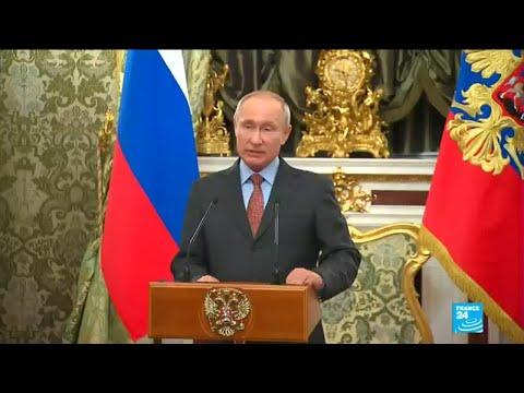 Russia: Vladimir Putin sworn in for fourth presidential term
