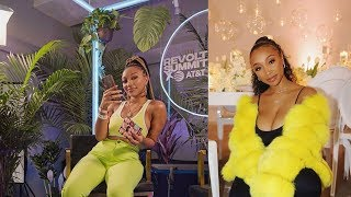 Tiny Harris Daughter Zonnique Pullins Looks Gorgeous In Yellow
