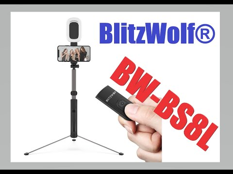 Το μεγαααάλο τρίποδο // BlitzWolf® BW-BS8L (+ Led Light) - UNBOXING (by Banggood)