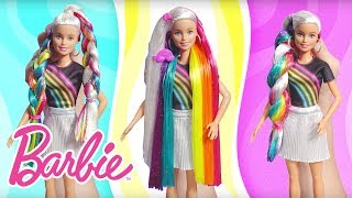 Barbie Rainbow Sparkle Hair Demo Video | Barbie
