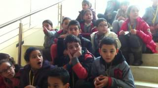 زيارة الى المتحف الاثري بسوسة مع تلاميذ السنة الرابعة