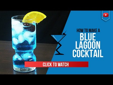 Video Blue Lagoon Cocktail - How to make a Blue Lagoon Cocktail Recipe by Drink Lab (Popular)