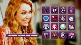 Miley Cyrus - Futebol #EuQueroSYM