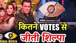 Shilpa Shinde GOT HUGE VOTES In Bigg Boss 11 Finale