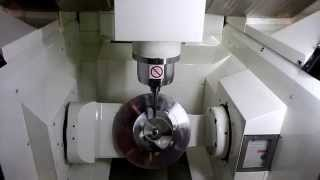 Kitamura Mytrunnion-4G 5-Axis Simultaneous Machining
