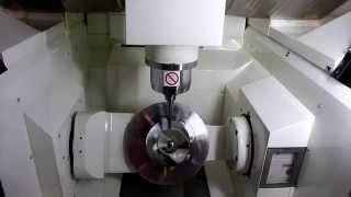 Kitamura Mytrunnion-4G 5-Axis Simultaneous Machining