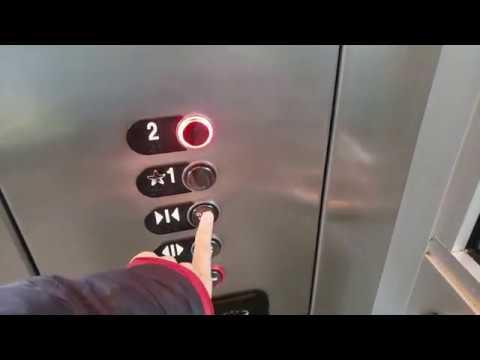 2005 ThyssenKrupp Aurora Hydraulic Elevator at Federal Way Transit Center - Federal Way WA