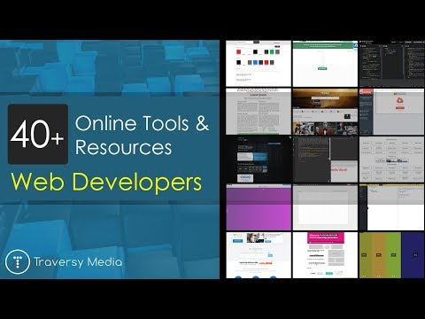 40+ Online Tools & Resources For Web Developers & Designers