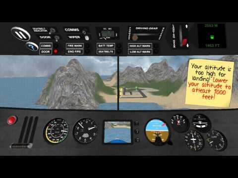 Airplane Pilot Simulator 3D Gameplay (Android) (1080p)