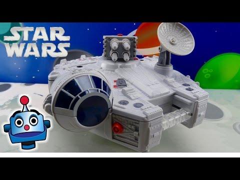 Star Wars Halcón Milenario Galaxy Heroes Millennium Falcon - Juguetes de Star Wars