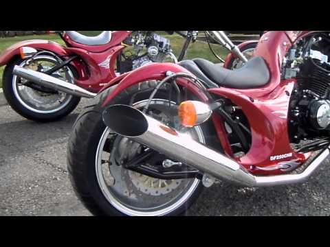 250cc Street Legal 3/4 Chopper Motorcycle Review – CountyImports.com – 877-300-8707