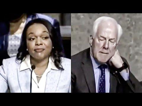 John Cornyn HUMILIATED After Biden Nominee Shuts Him Down
