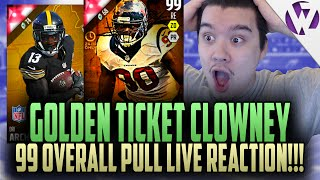 Madden 16 GT CLOWNEY + 92 DRI ARCHER! 99 OVERALL PULL LIVE EPIC REACTION! DRAFT BUNDLE PACK OPENING