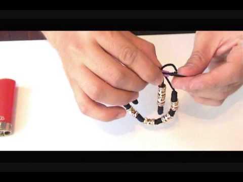 09b72d87f992 como hacer las pulseras de nudo franciscano parte 2 - смотреть ...