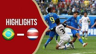 Hasil Pertandingan Piala Dunia 2018: Brasil Menang secara Dramatis Atas Kosta Rika