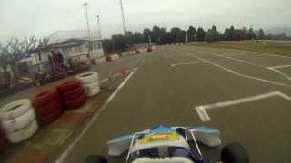 preview picture of video '1/2/2014 Karting Sallent - Pista mojada - PRD Fireball - Piloto Danny'