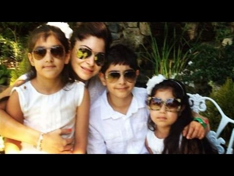 Kanika Kapoor Lives As A Single Mother With Her Three Kids !