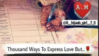 Muslim Couple Quotes || Love Shayari || Whatsapp Status Video