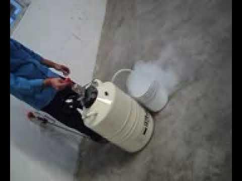 IX 35 Cryoseal Liquid Nitrogen Container