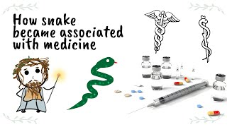 Why the symbol for medicine is a snake on a stick
