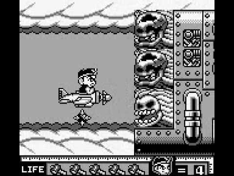 Hammerin' Harry: Ghost Building Company Completed No Death Game Boy