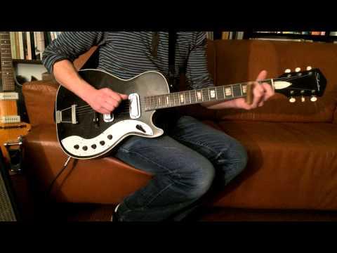 Feelin Bad Blues - Crossroads - Ry Cooder - 50 years old Silvertone 1423