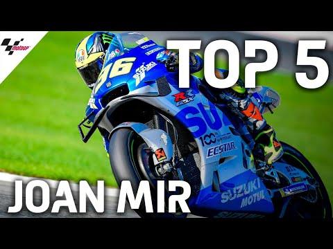 ジョアン・ミルが見せた2020MotoGPレース中の名シーンベスト5をまとめたハイライト動画