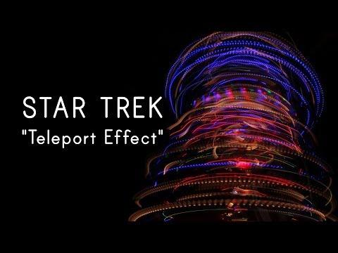 Watch Christmas Lights Recreate Star Trek's Beam Me Up Scotty Effect