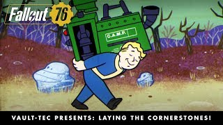 Fallout 76 – Vault-Tec Presents: Laying the Cornerstones! Crafting and Building Video