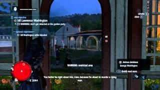 preview picture of video 'Assassin's Creed Rogue Gameplay Walkthrough Part 7 - Lawrence Washington Assassination (AC6)'