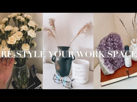 , title : 'How To Syle Your Office Desk Or Work Space | EARTHY | MINIMAL | MODERN |