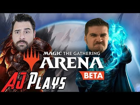 AJ Plays Magic: The Gathering Arena [OPEN BETA NOW!]