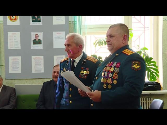 Именины у ангарского военкомата