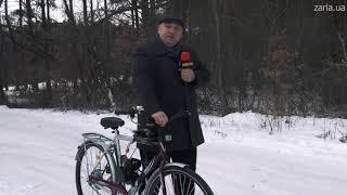 Веломотор F80 на велосипед 80 сс со стартером ЧЁРНЫЙ полный комплект оригинальное качество ТММР Racing от компании УКР ТММР мотозапчасти со склада - видео