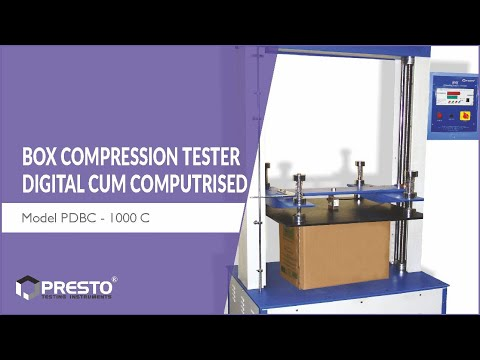 Box Compression Tester Computerized
