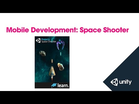 Mobile Development: Converting Space Shooter to Mobile - Unity