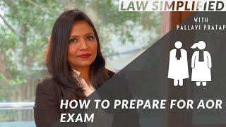 How to Prepare for AOR Exam of Supreme Court | Pallavi Pratap AOR